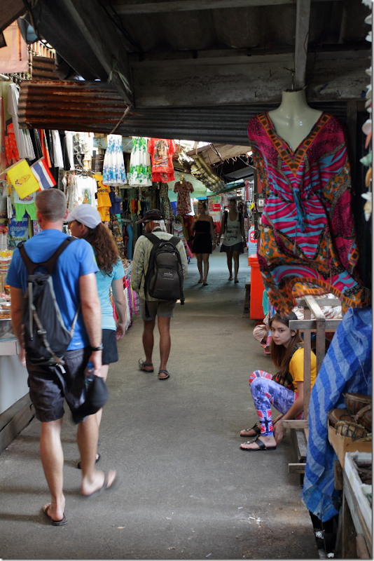 markets of ko panyee, thailand