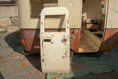 sanded door