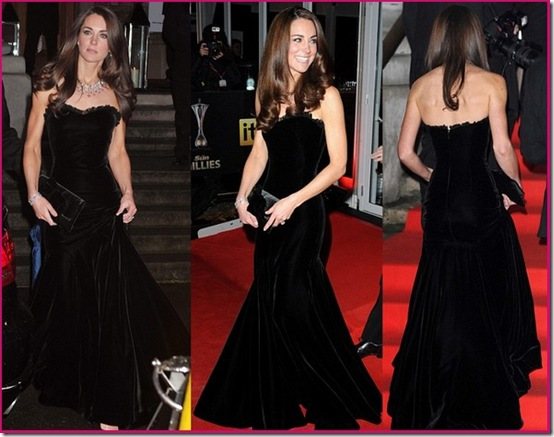 Kate-Middleton-Black-Velvet-Alexander-McQueen-Gown