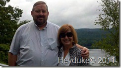 slh With Chuck at the overlook to Great Sacandaga Lake NY