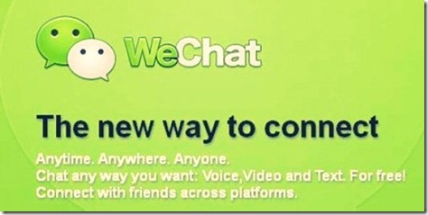 Aplikasi WeChat 2013 Voice Chat