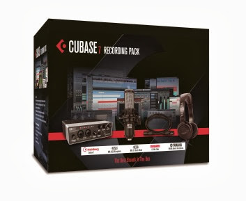 Cubase 7 Recording Pack Box mock