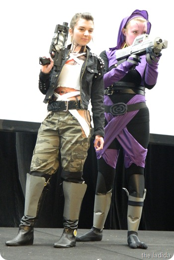EB Expo Just 'Cos Cosplay Competition - Tali and Jack from Mass Effect