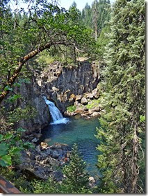 Mt. Shasta and waterfalls 019