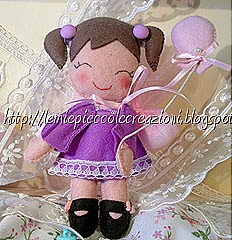 bambolina con palloncino