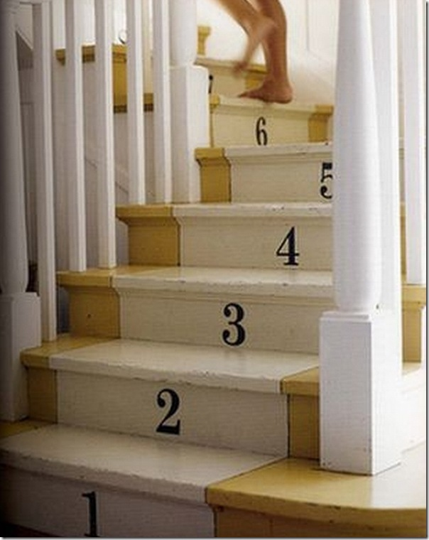 case e interni - decorare con letere e numeri (12)
