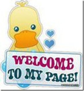 WELCOME TO MY PAGE