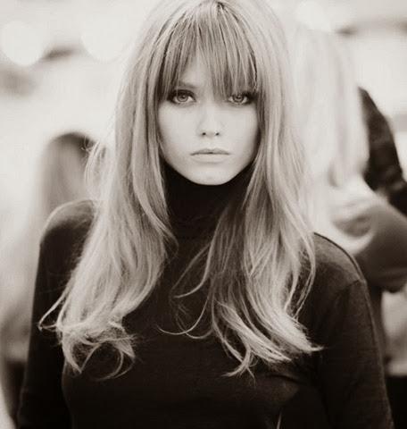 model rambut untuk wajah lonjong