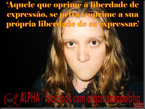 Liberdade de Expressão Guilherme ALPHA Kempoviki (1)