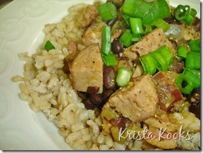 Krista Kooks Cajun Red Beans and Rice 3