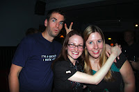 Todd, Kristy and Leanne