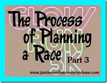 Race Planning Part 3