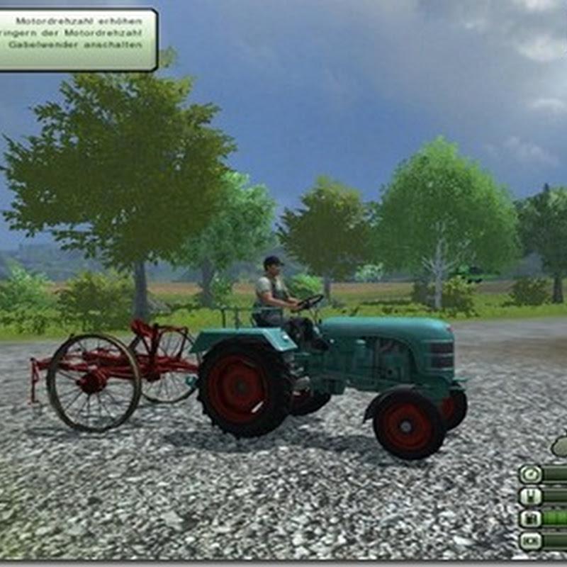 Farming simulator 2013 - Vintage car driving fork turner v 2.0