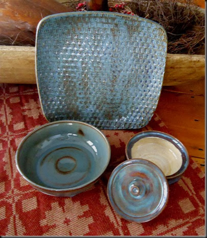 Blue dishes 1