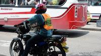 Weste mit Kennzeichen ist Pflicht in Kolumbien