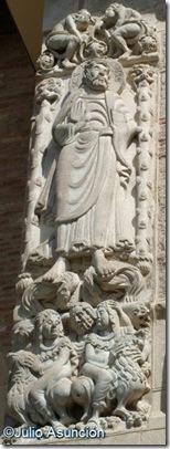 Santiago - Portada sur - Basílica de Saint Sernin - Toulouse