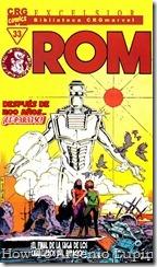 P00033 - ROM - Biblioteca Marvel #33