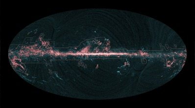distribuição de monóxido de carbono no espaço