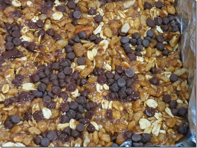 Gluten Free Chewy Coconut Oil Granola Bars