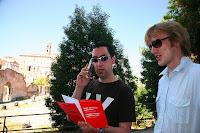 Tour guide Gerrod at the Roman Forum