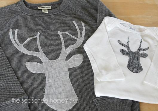 Deer Head Applique by The Seasoned Homemaker