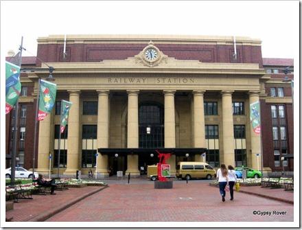 Wellingtons Grand Railway Station.