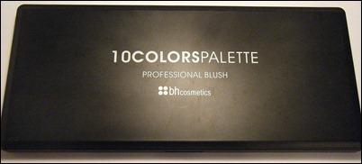 BH Cosmetics 10 Colors Blush Palette