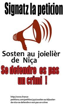 Signatz la peticion de Niça