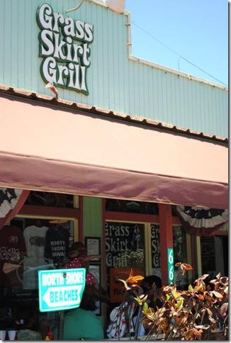 Grass Skirt Grill