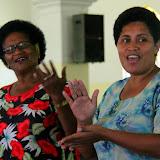 Two Fijian Women Share A Song in Viseisei Village - Port Denarau, Fiji