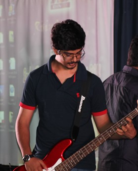 Shivendra Shukla - bass maestro.