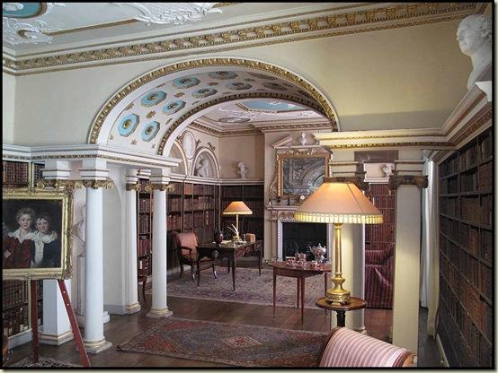Shugborough - the Library