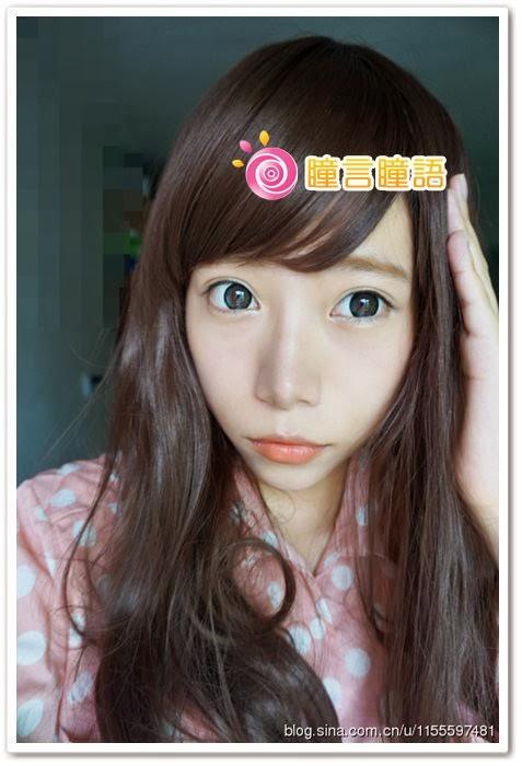 日本ROYAL VISION隱形眼鏡-Choco lat銀灰11