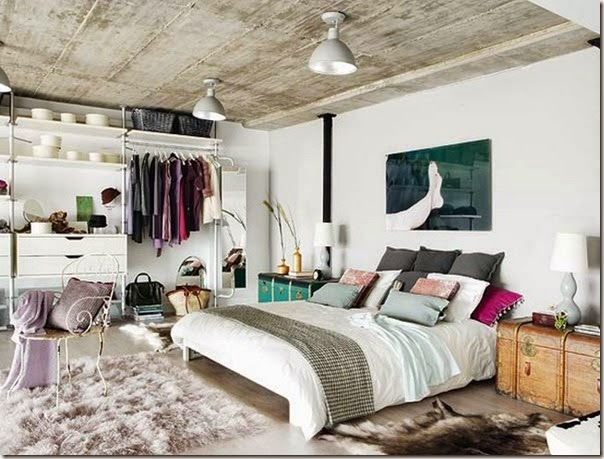 Elegant-two-level-loft-Madrid-1
