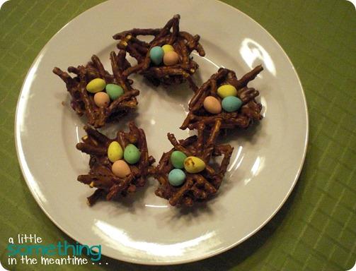Bird's Nest Dessert