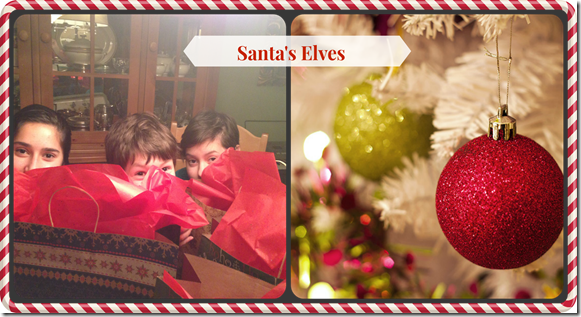 Santa's Elves #cbias DownshiftingPRO