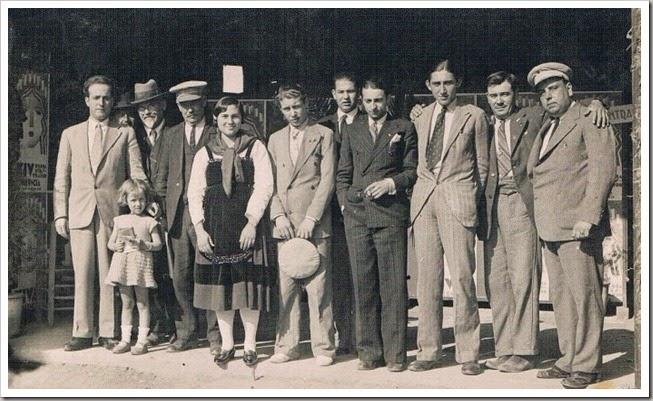 1931 empleados feria muestrario internacional