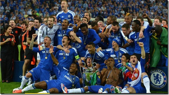 Chelsea Are The 2012 Champions League Winners