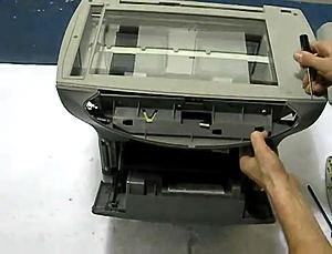Fix HP 3300 3330 Scanner Bulb Warm Up Error (10)