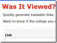 Come sapere se un indirizzo internet inviato per email è stato aperto