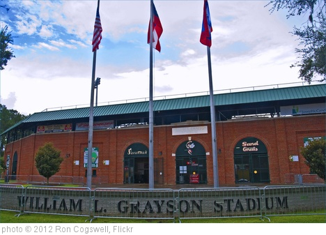 'Historic William L. Grayson Stadium -- Savannah (GA) 2012' photo (c) 2012, Ron Cogswell - license: http://creativecommons.org/licenses/by/2.0/