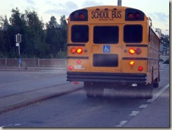 nightmare schoolbus leaving