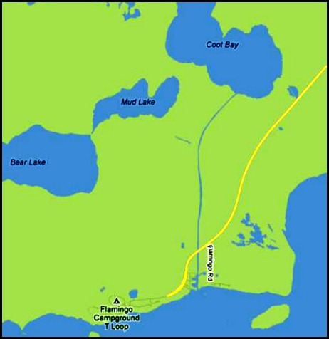 0b - Map of Canal to Coot Bay Lake