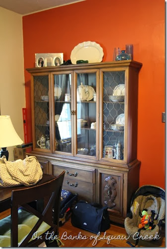 china cabinet redo before