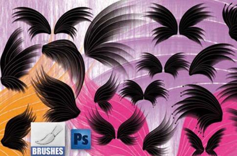 Pinceles de alas artísticas