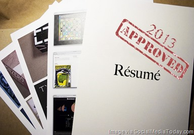 social-media-resume
