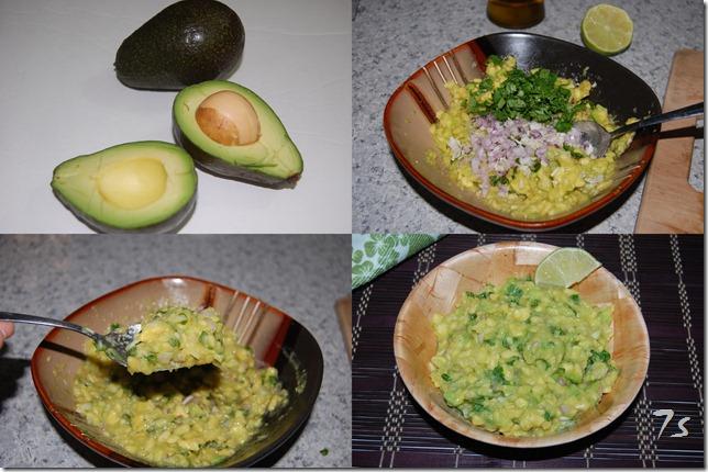 Guacamole process