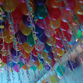 Party Balloons by Anjsh Lacanlale - Artistic Objects Other Objects ( colors, balloons, party )