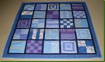 2011 finished quilt