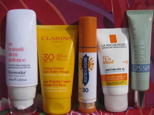 Facial Sunscreen-This-Works-Clarins-Anti-Wrinkle-La-Roche-Posay_Anthelios-Clinique-City-Block-review